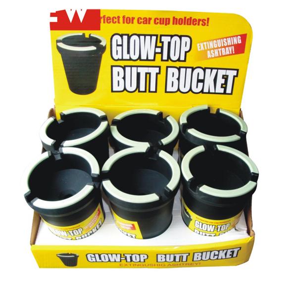 Butt Bucket Counter Display Glow Top