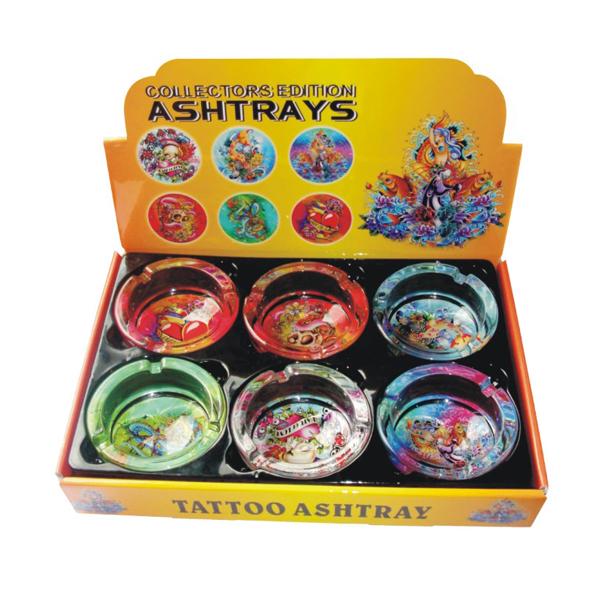 Ashtray Glass Tattoo