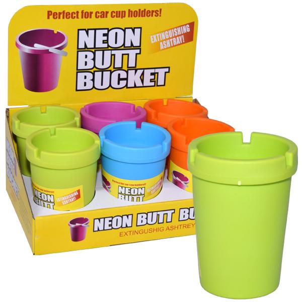 Butt Bucket Counter Display Neon Top