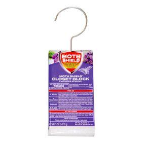 Moth Shield Closet Deodorizer 5oz Lavender
