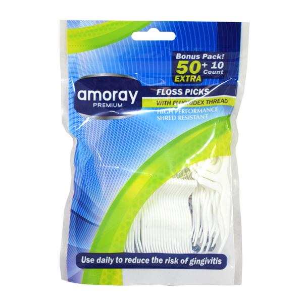Amoray Floss Picks 50+10