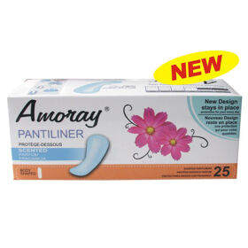 Amoray Panty Liner 25CT Scented