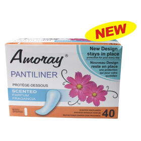 Amoray Panty Liner 40CT Scented
