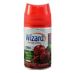 Wizard 5 oz. Automatic Spray Refills, Apple Cinnamon