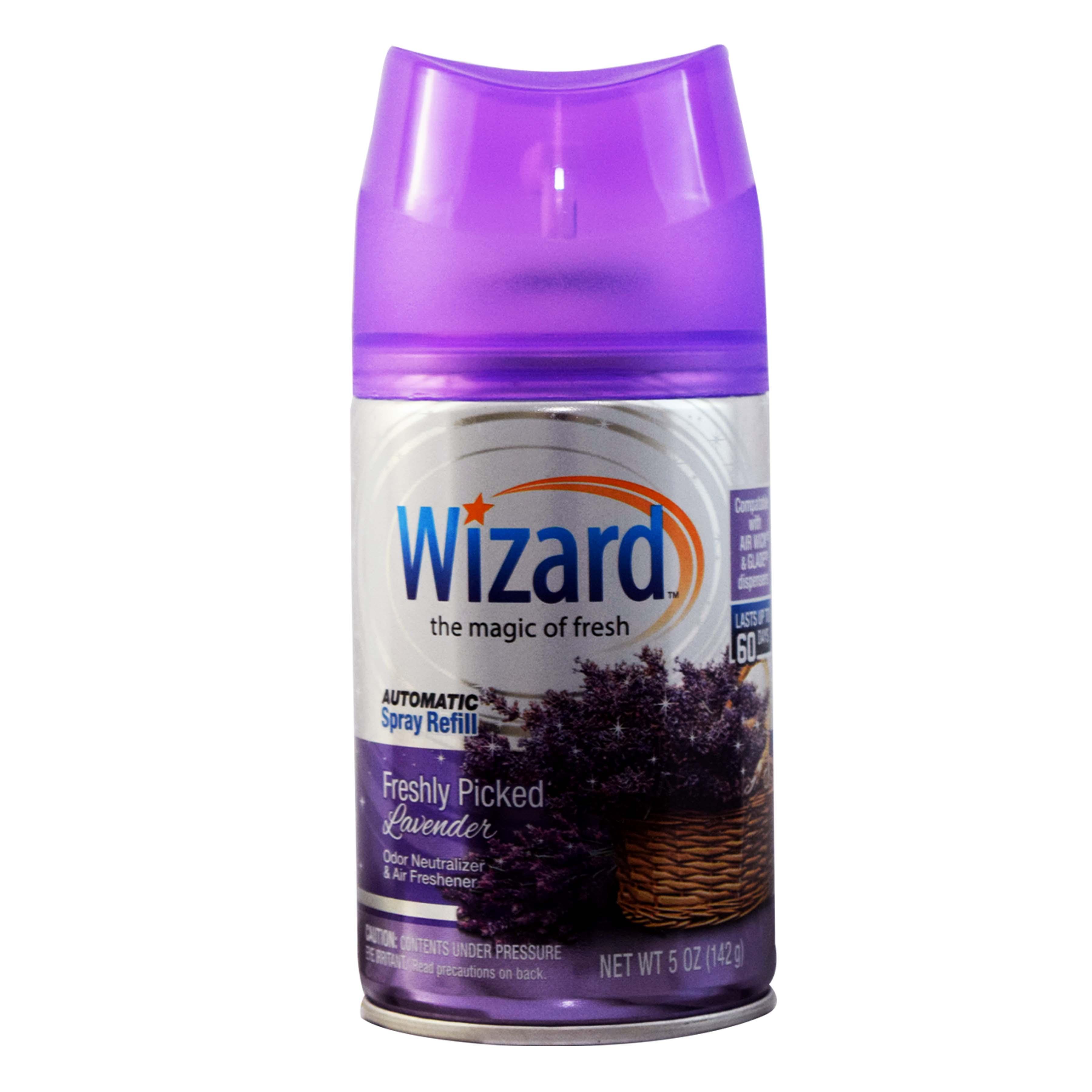Wizard 5 oz. Automatic Spray Refills, Freshly Picked Lavender
