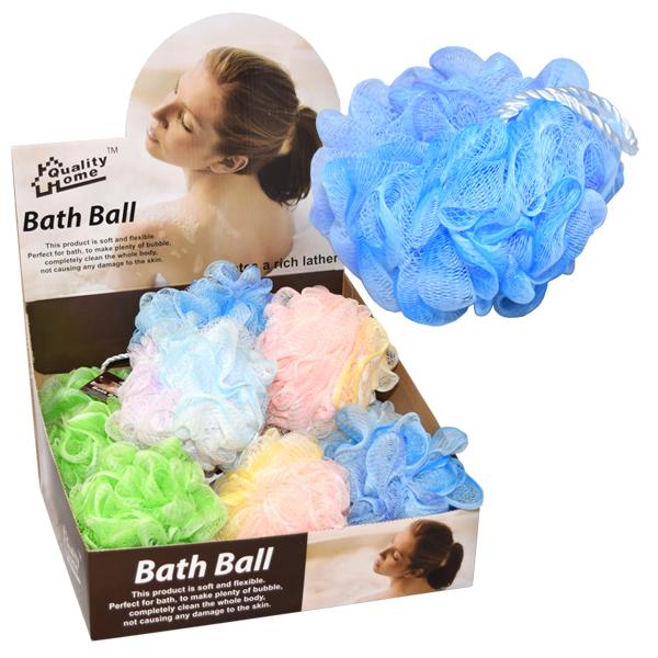 Bath Ball Tub Display Pastel Colors 80G