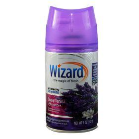 Wizard 5 oz. Automatic Spray Refills, Sweet Vanilla Lavender