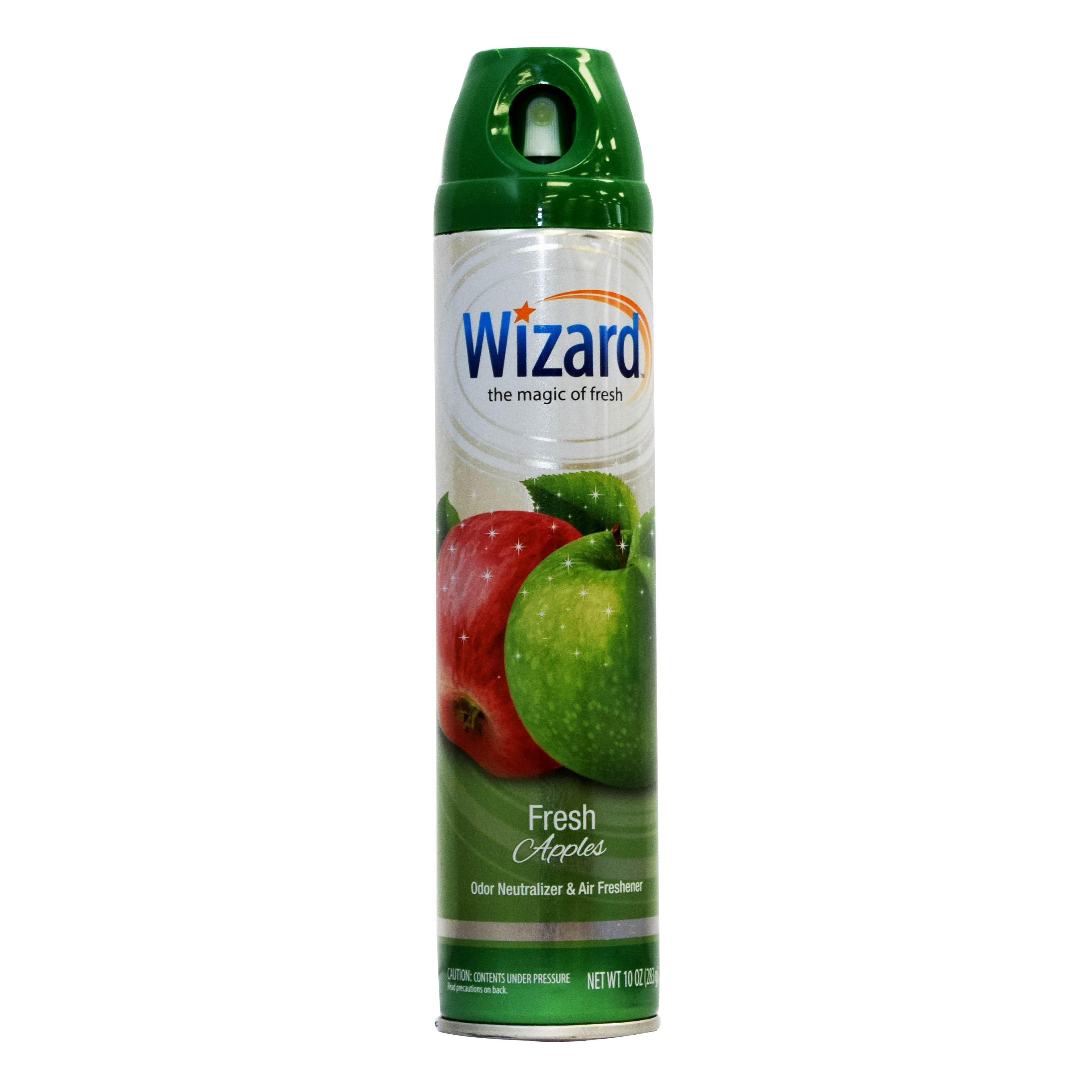 Wizard 10 oz. Aerosol Spray, Fresh Apple
