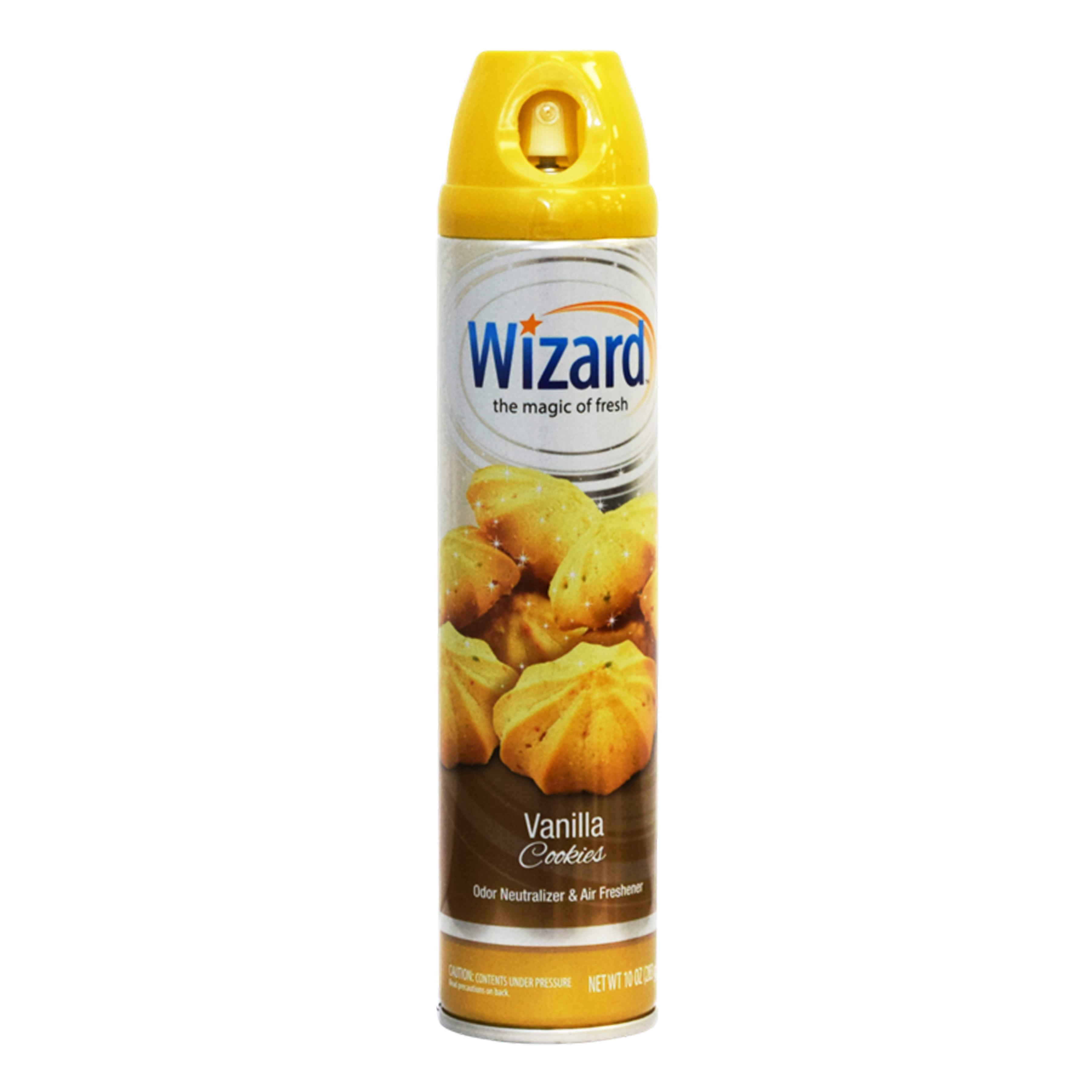 Wizard 10 oz. Aerosol Spray, Vanilla Cookie