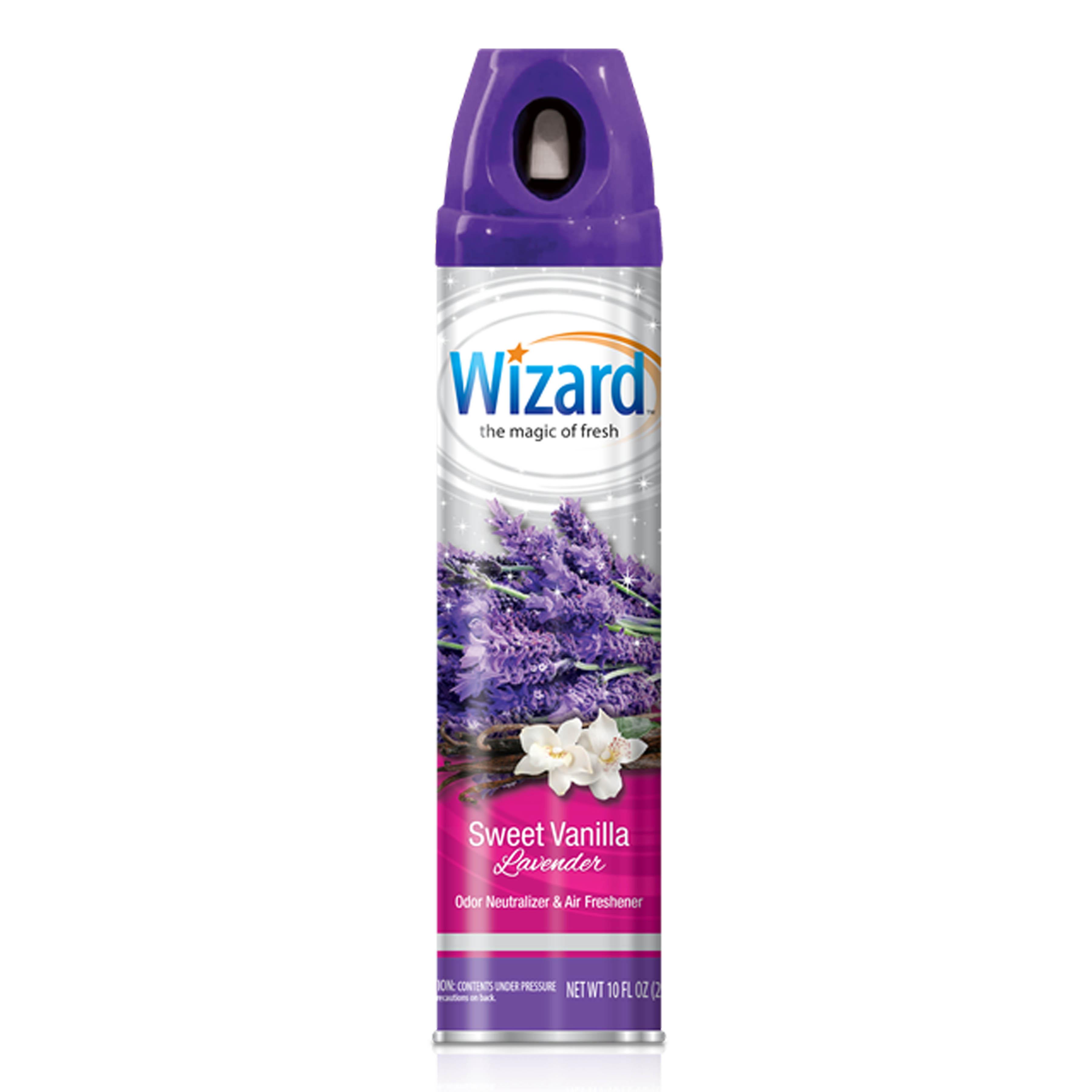 Wizard 10 oz. Aerosol Spray, Sweet Vanilla Lavender