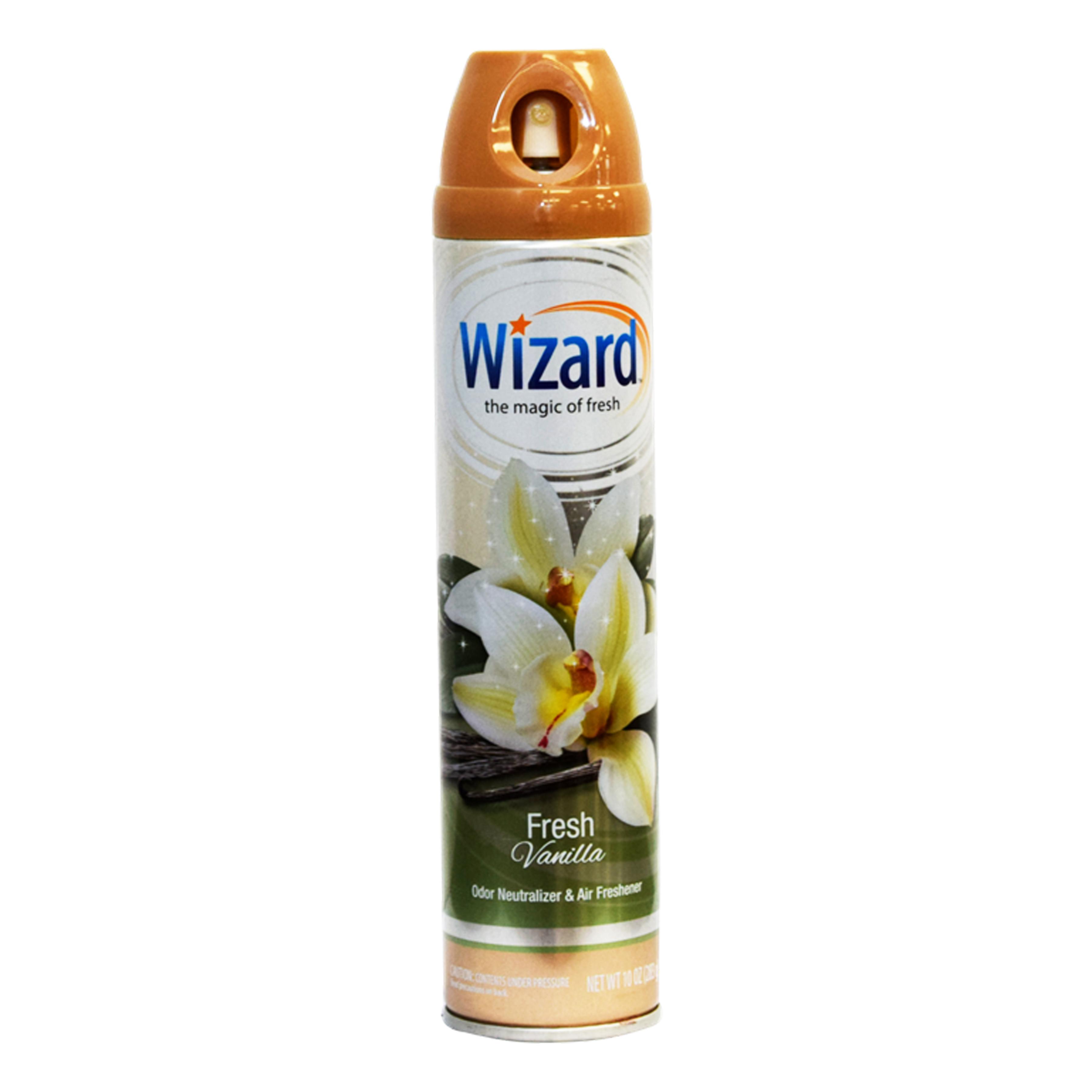 Wizard 10 oz. Aerosol Spray, Fresh Vanilla